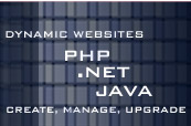 We Develop , Manage, Upgrade websites using PHP, Asp.net, Java.